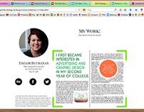 Project 1: Page Development & Design
