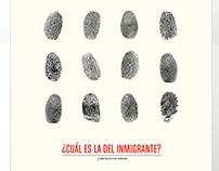 Afiche Inmigrantes