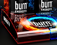 Burn POS display