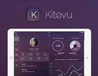 Kitovu IOS 8 UI/UX Tablet Design