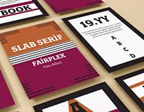 Periodic Typography Card Design