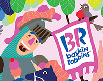Baskin Robbins : Calendar 2015 Submission