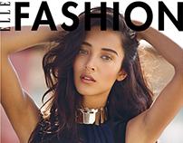 Daniela De Jesus Cosio in Haute Couture for ELLE