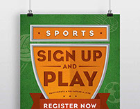 Sign Up and Play