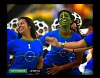 Foot Ball Game Website Design