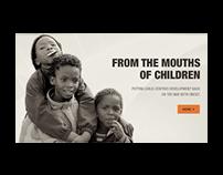 Communications Nonprofit Website Design
