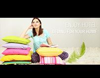 Pillow manufacture website design
