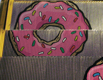 Donuts' escalator // The Simpsons' Movie