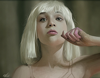 """Maddie Ziegler"" From Chandelier song - Sia)"