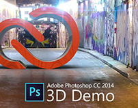 Adobe Photoshop - 3D Demo