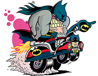 El Batimóvil // The Batmobile
