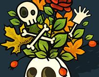 Halloween doodles (+gif)
