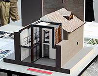 Architect model / Casa sul Lago d'Orta