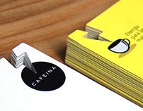Cafeina, Business Card