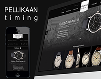 Pellikaan - Dutch Made Watches. Responsive design
