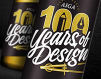AIGA Centennial Bottle