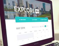 Explore 419 Website