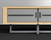 Collapsable Coffee Table Concept