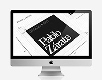 New Website | PabloZarate.com