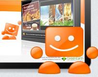 Squareface Flash Presentation and Website