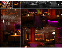 New design buffet, restaurant in Karaoke Ibox