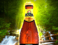 3D modeling and Render for HOLBA Beer
