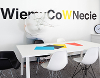Energetic office space of interactive marketing agency