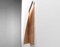 Paper light - wall lamp