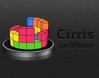Cirris - the circular game of Tetris for iPhone