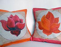 Lotus pillows