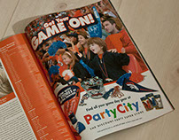 Party City Game Day AD