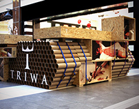 Triwa Tube Tank pop-up store