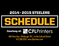 Pittsburgh Schedule