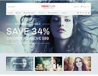 WordPress eCommerce Theme   Download Template