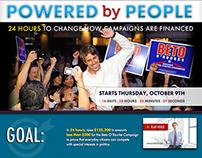 Web: Beto ORourke - Powered by People