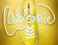 Shoelace Typography