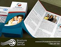 Orthodontics tri-fold brochure