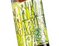 Driftwood Brewerys Sartori Harvest IPA Label Design