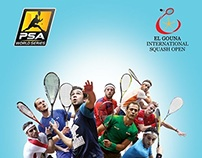 El Gouna International Squash open 2014