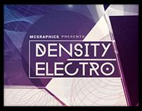 DENSITY ELECTRO PSD FLYER TEMPLATE