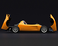 Body Design Silvermine Race Car