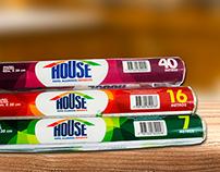diseño empaques HOUSE