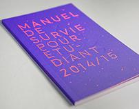 UdeM Manuel de survie de létudiant 2014/2015