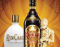 A Kahlua & RumChata Halloween Ad