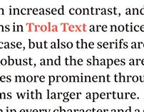 Trola Text