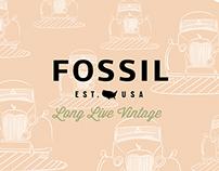 Fossil Watch Design