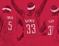 Houston Rockets Bands of Brothers