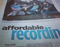 Philadelphia Inquirer Feat Article 2.3.15 DIY Recording