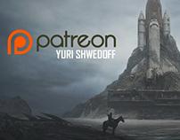 Yuri Shwedoff Patreon page. Tutorials and Process video