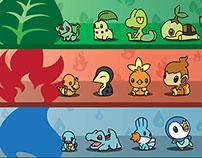 Pokemon Starter Timeline
